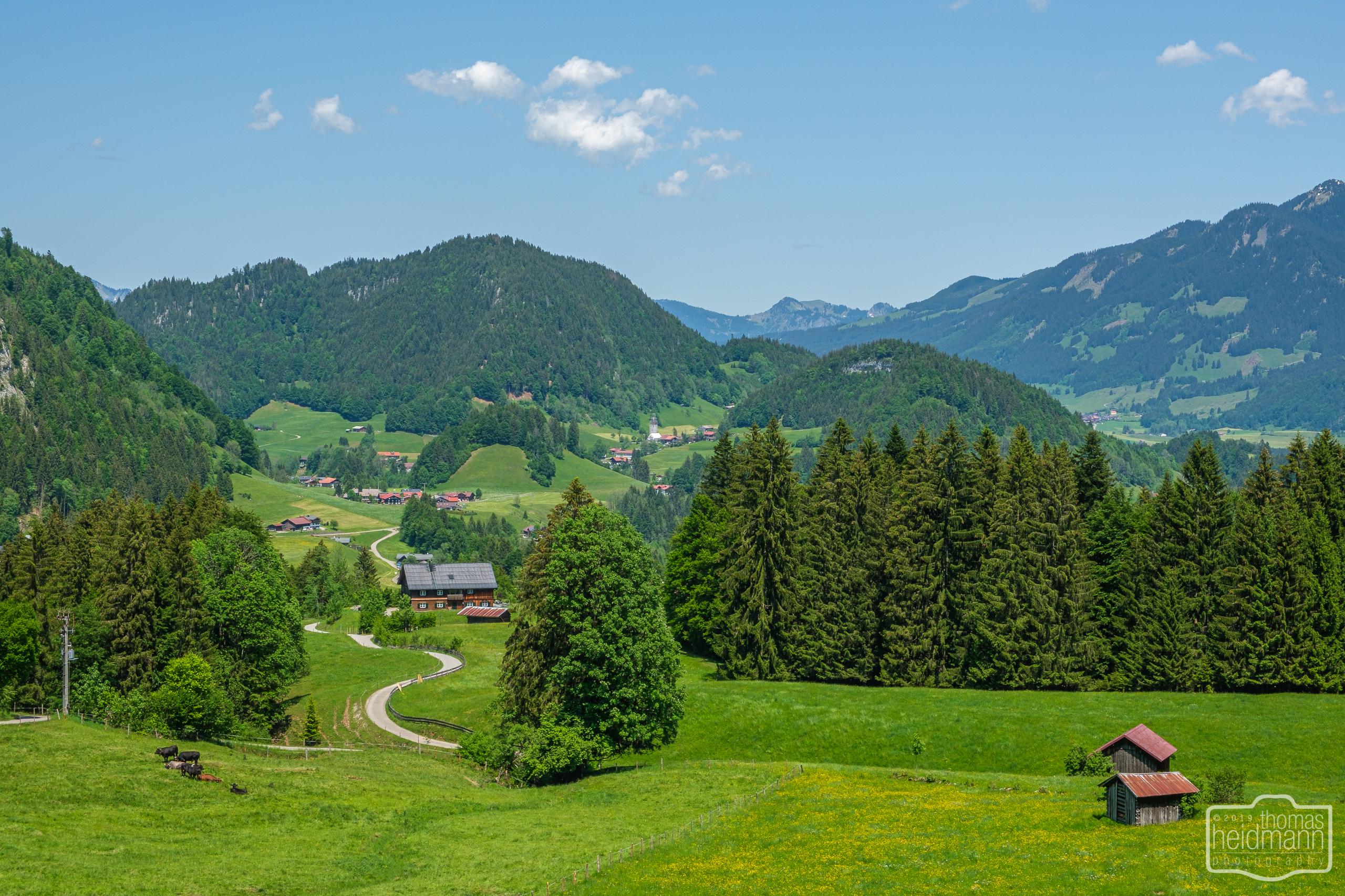Allgäuer Alpenlandschaft