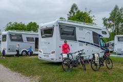 Radtour durchs Allgäu nach Füssen - Via Claudia Camping