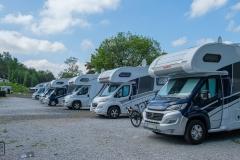 Facebook-Gruppentreffen des alpa-Reisemobilclubs im Sommer 2019 am Twistesee