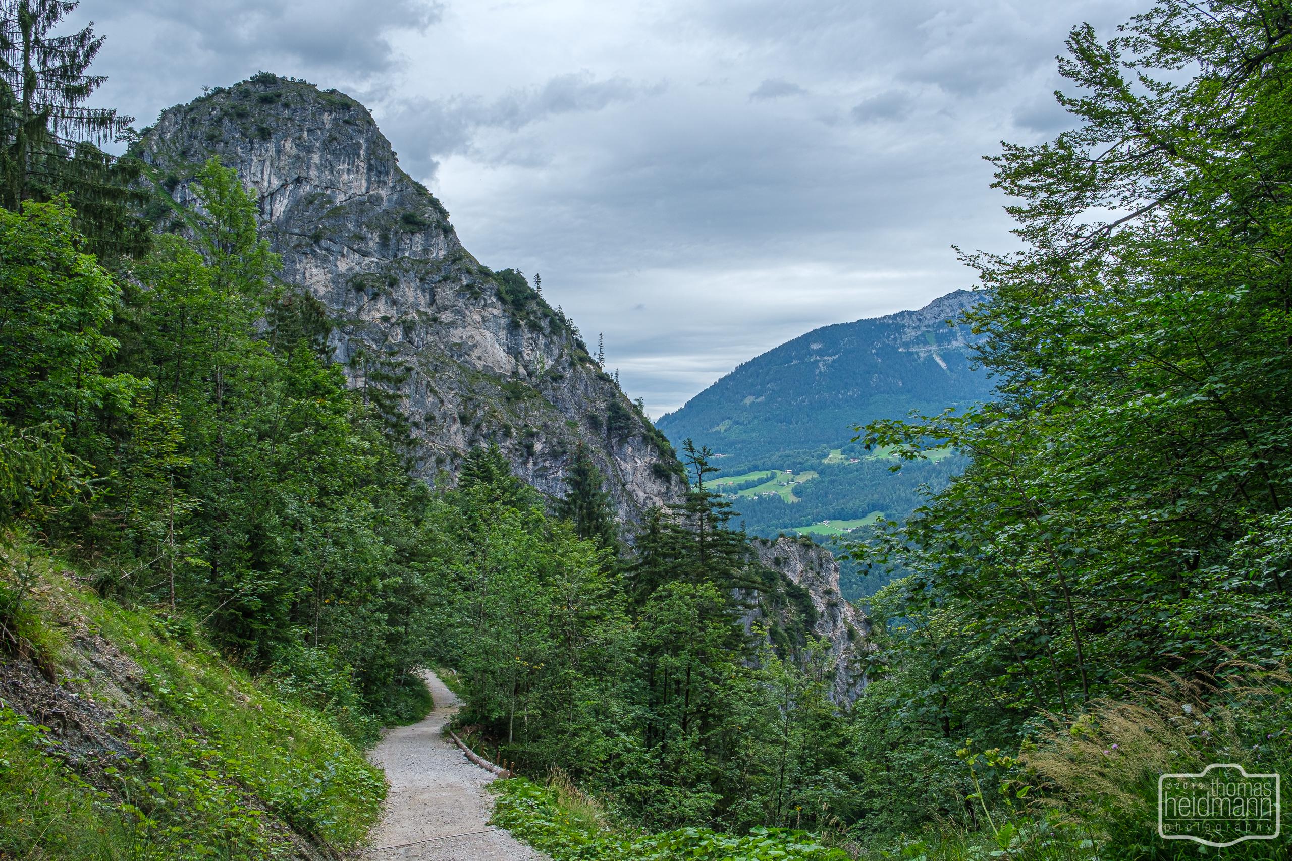 Wanderung zum Grünstein und zur Kuhrointalm