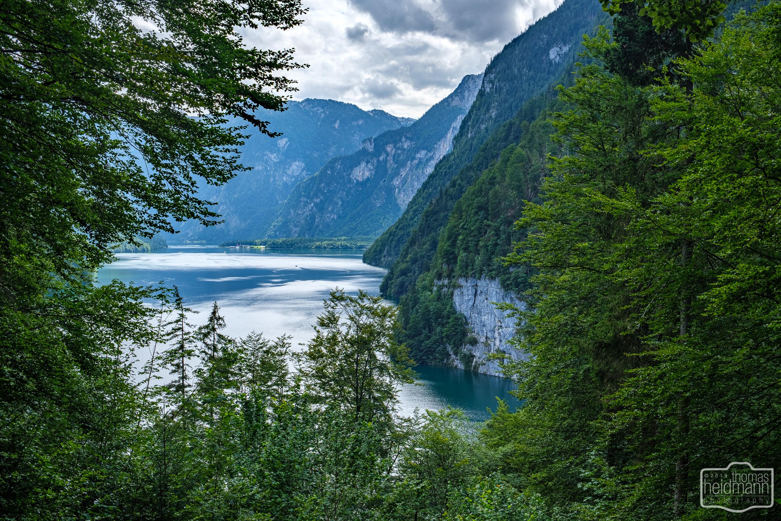 Wanderung Malerrunde - Blick auf den Königssee