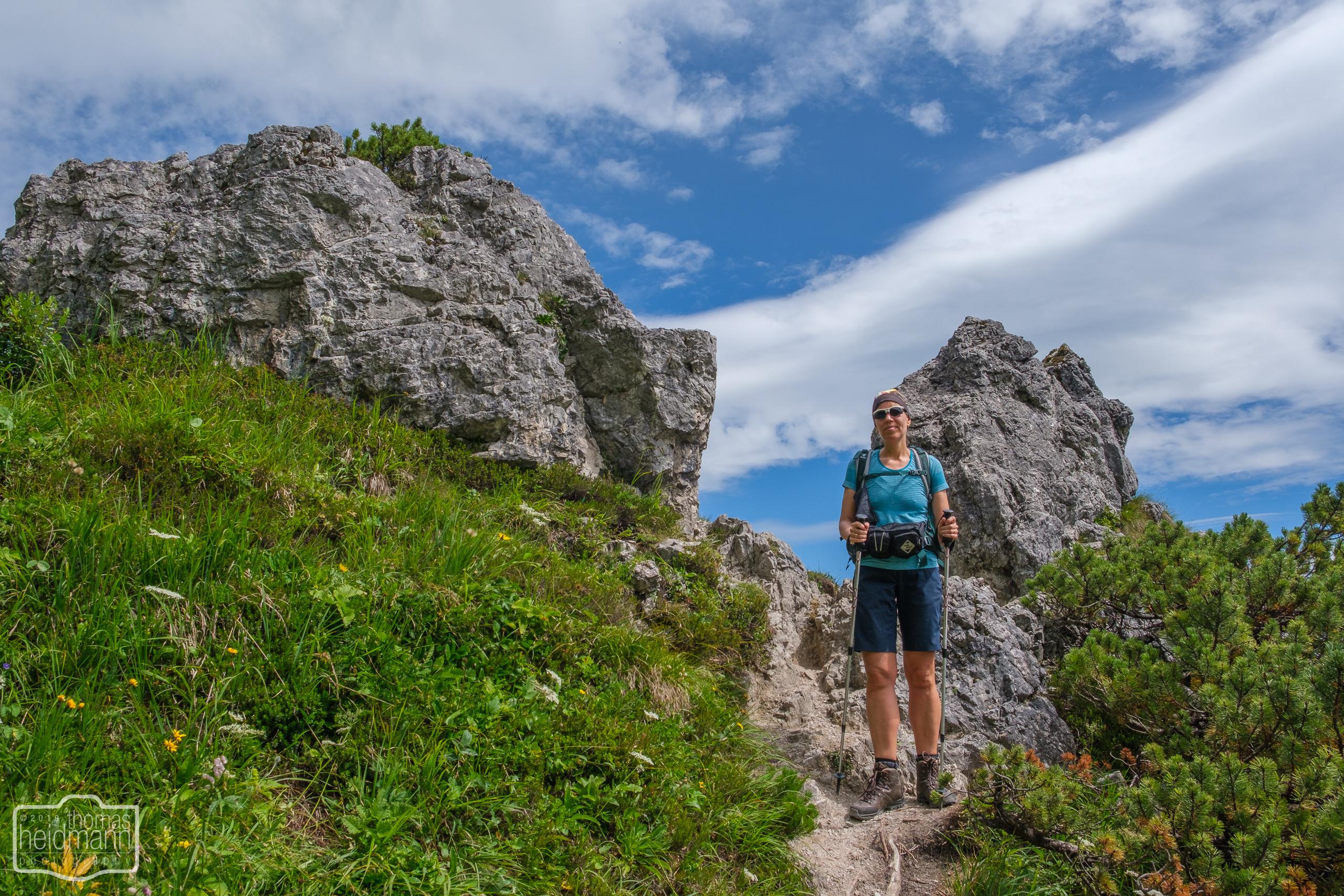 Wanderung zum Jenner-Gipfel - fast oben