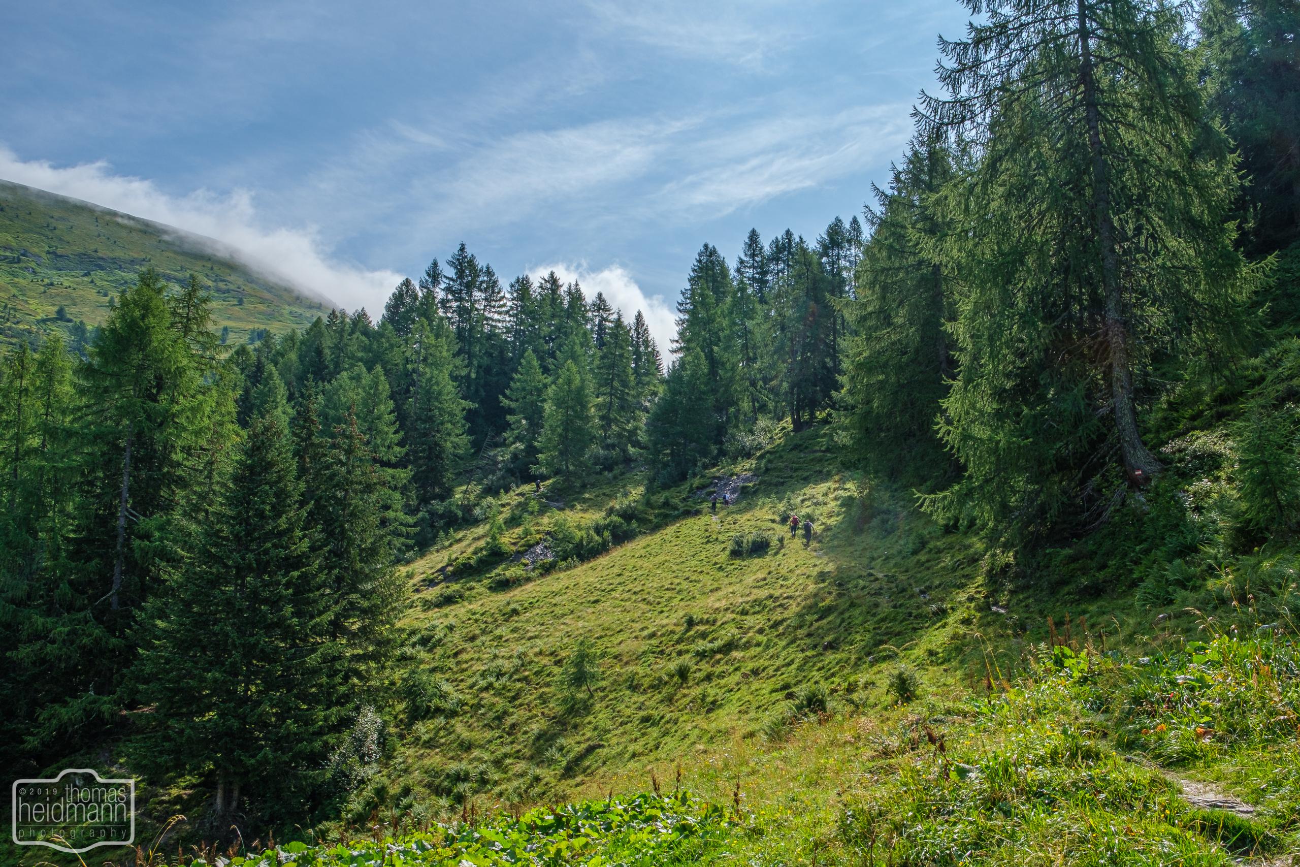 Gratwanderung - Der Wanderweg