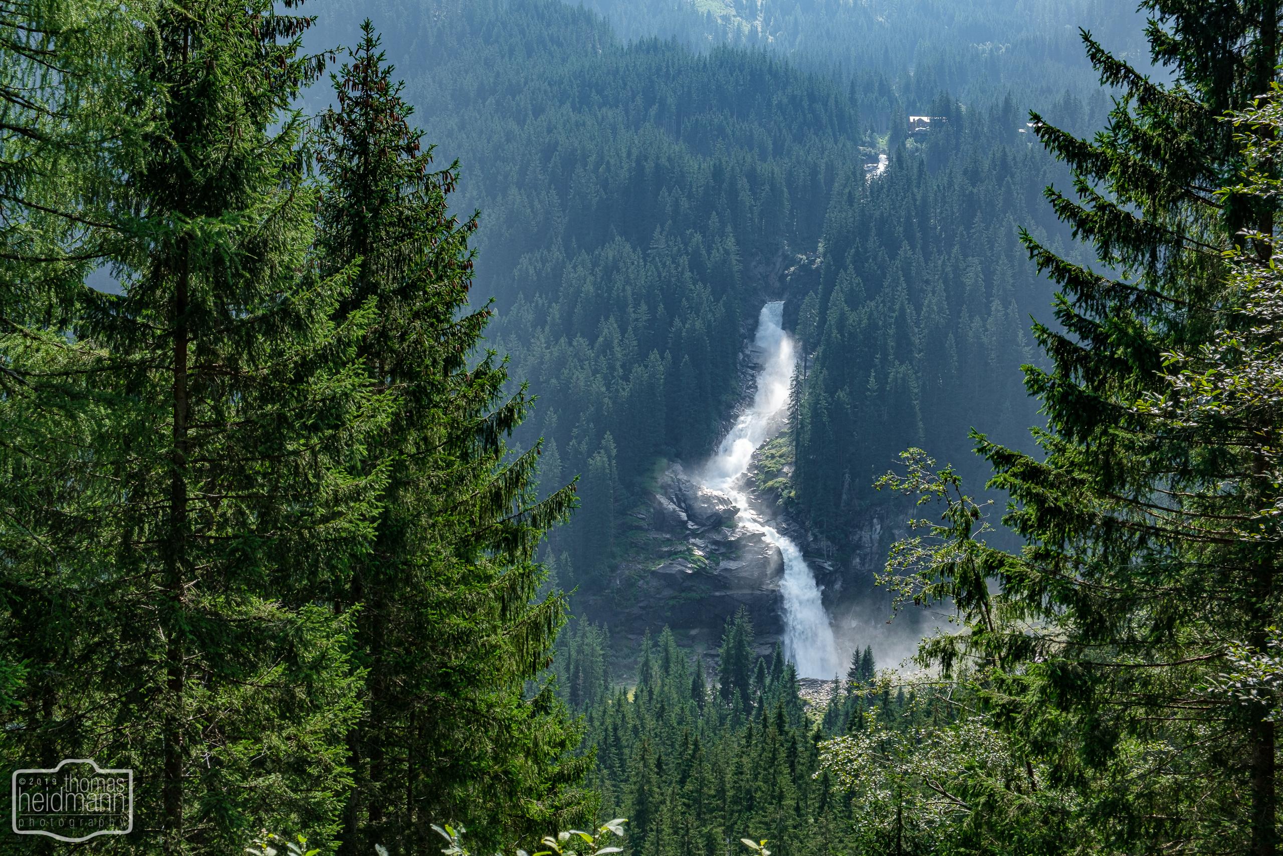Radtour durchs Krimmler Achental - Krimmler Wasserfall