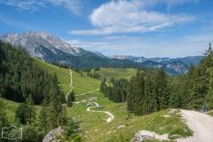 Wanderung zum Jenner-Gipfel - der Weg