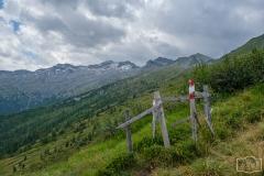 Wanderung zur Hirschgrubenalm und Modereggalm - Gatter