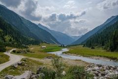 Radtour durchs Krimmler Achental - Almen im Achental