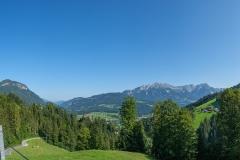 Wanderung auf die Hohe Salve - Panoramablick auf Söll