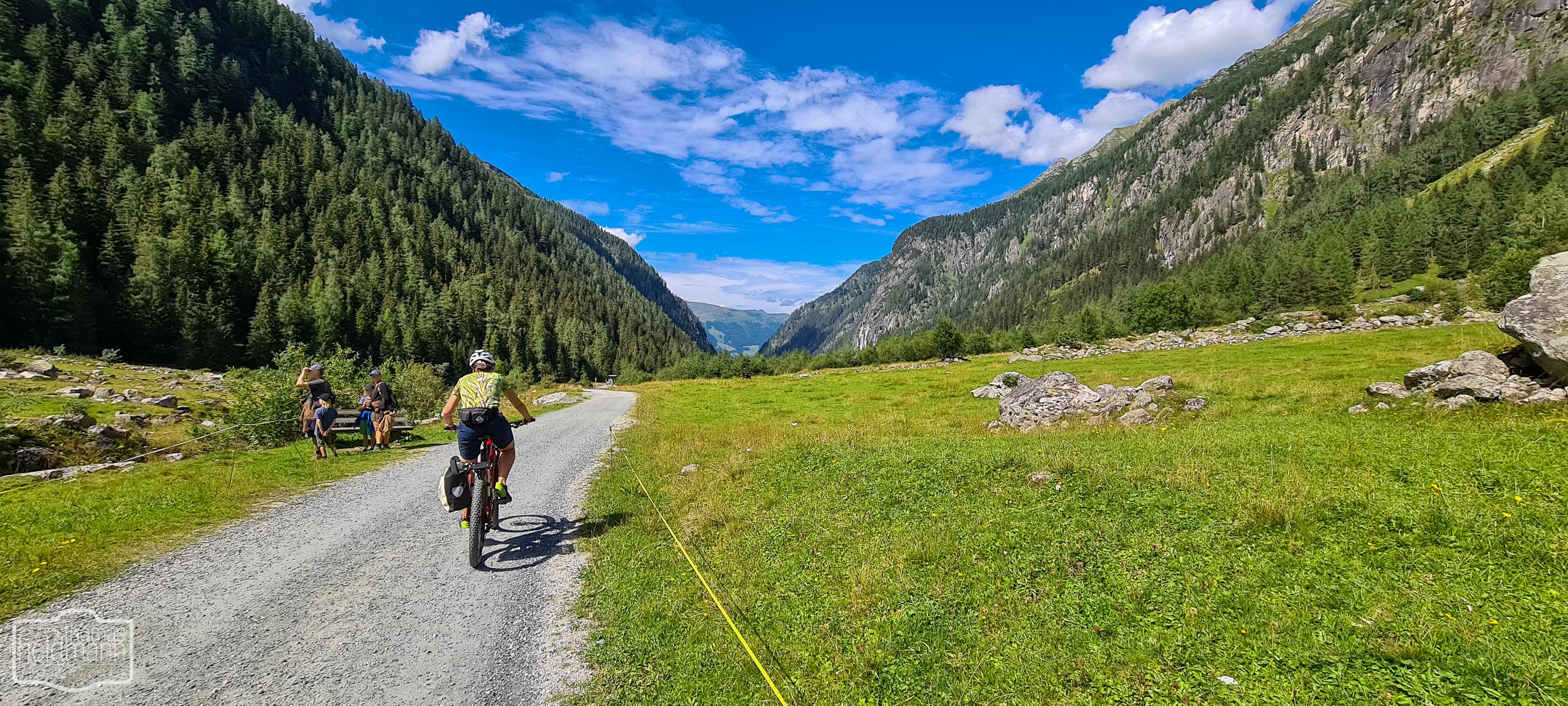 MTB-Tour durch das wildromntische Habachtal