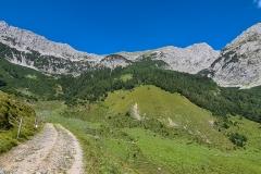 Bergwelt beim Wilden Kaiser