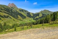 Landschaft beim Wildkogel