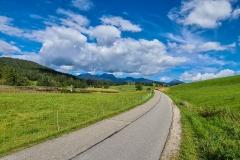 Landschaft bei Mittenwald