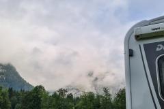 Nebel im Wettersteingebirge