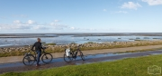 Radtour an der Nordsee zum Eidersperrwerk