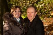 Xenia & Thomas im Herbstwald