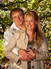 Hanne & Rainer im Herbstwald