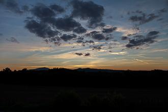 Sonnenuntergang in San Galgano