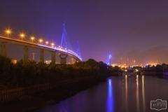 Blue Port 2012 entlang der Köhlbrandbrücke
