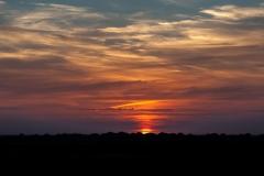Sonnenuntergang auf Nordstrand