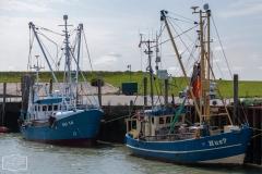 Fischkutter auf Nordstrand