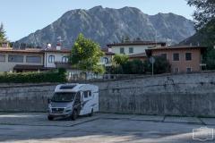 Stellplatz in Gemona (Norditalien)