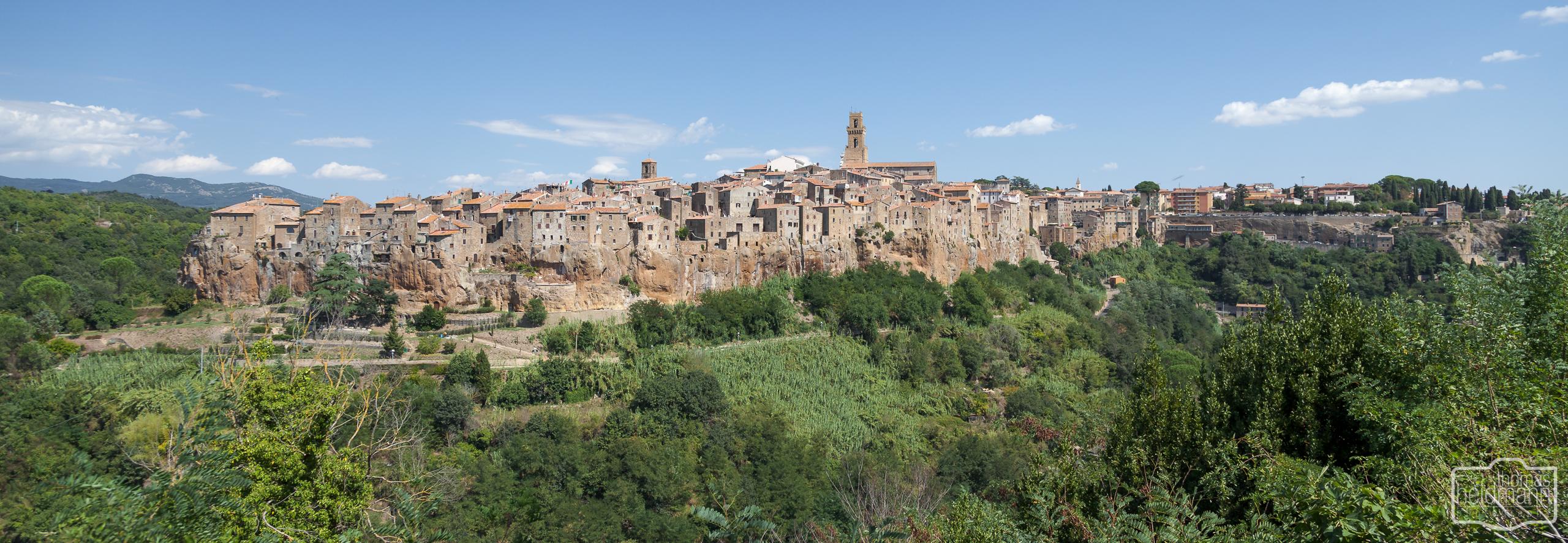 Pitigliano  (Süd-Toskana)