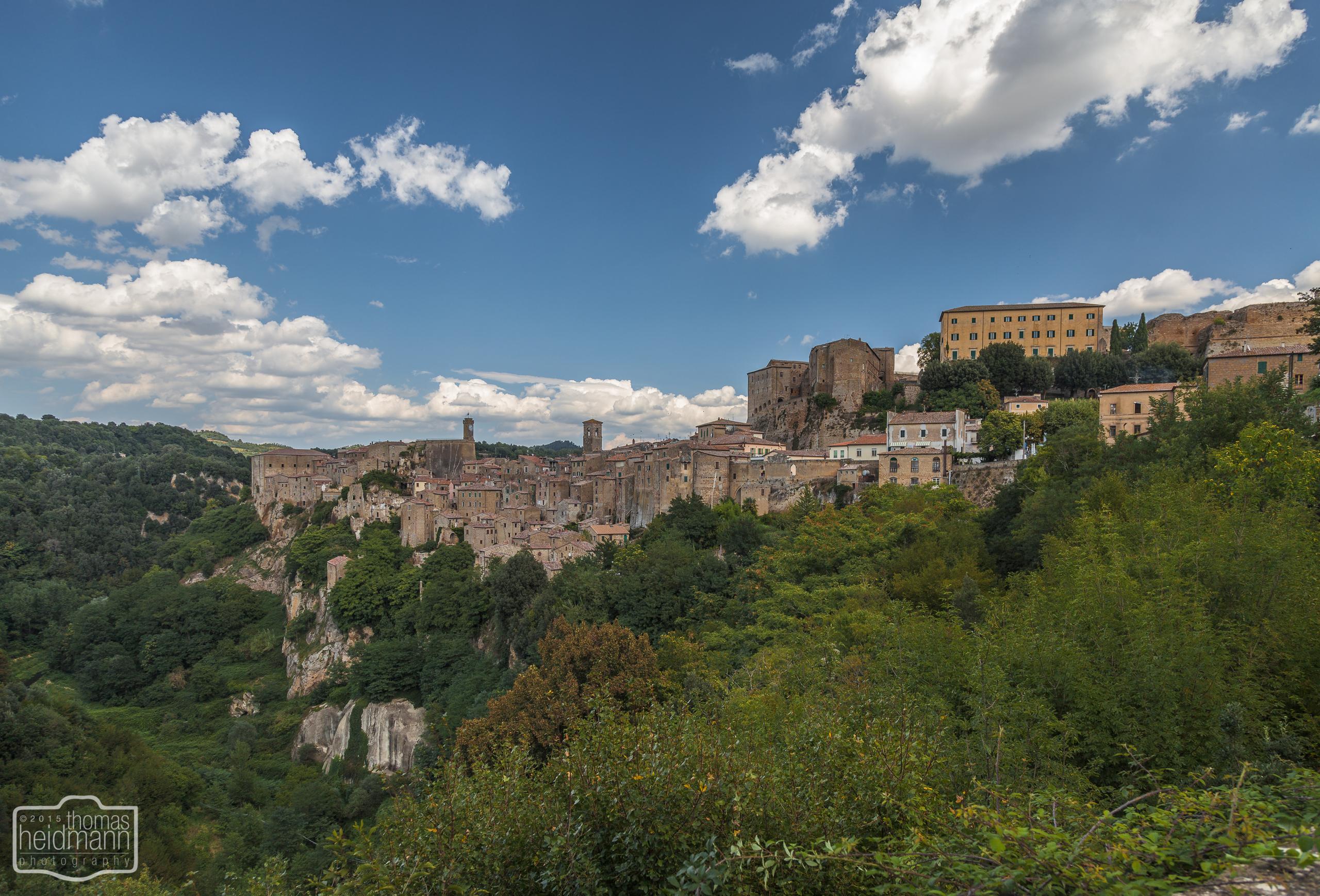 Sorano (Süd-Toskana)