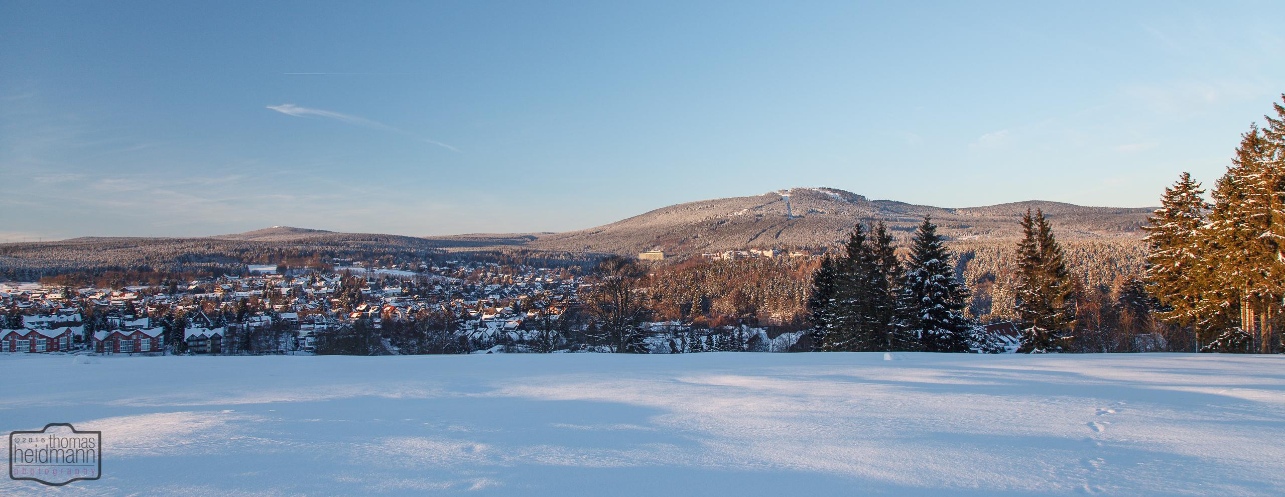 Winterlandschaft bei Braunlage im Harz