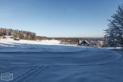 Loipe bei Braunlage im Harz