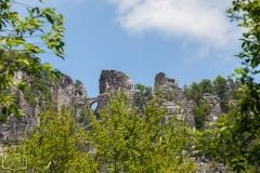 """Die """"Bastei"""" im Elbsandsteingebirge"""