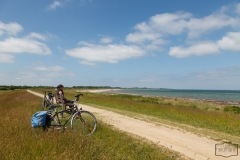 Radtour direkt an der Ostsee in SHH bei Drecht