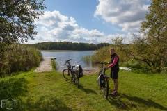Radtour um den Lübbesee bei Templin