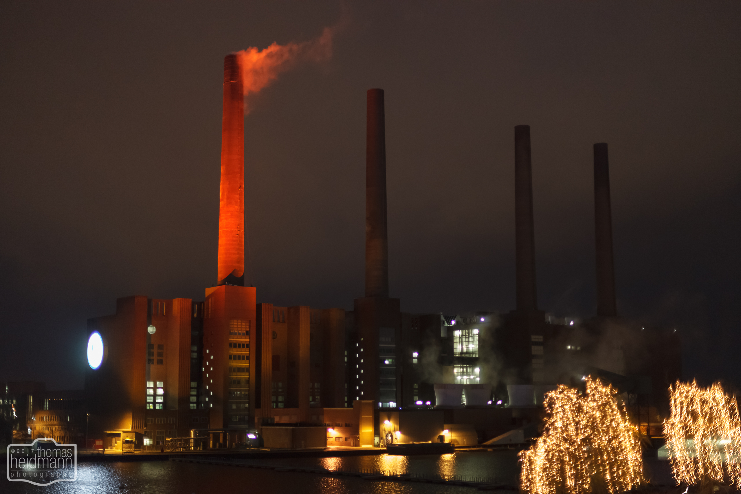 Kraftwerk der Autostadt