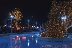 Eislauffläche Weihnachtsmarkt Autostadt