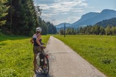 Radtour zum Bergdoktor in Söll, Ellmau und Going - Im Tal zum Wilden Kaiser