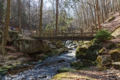 Wanderbrücke über die Ilse