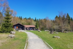 Hütte am Scharfenstein