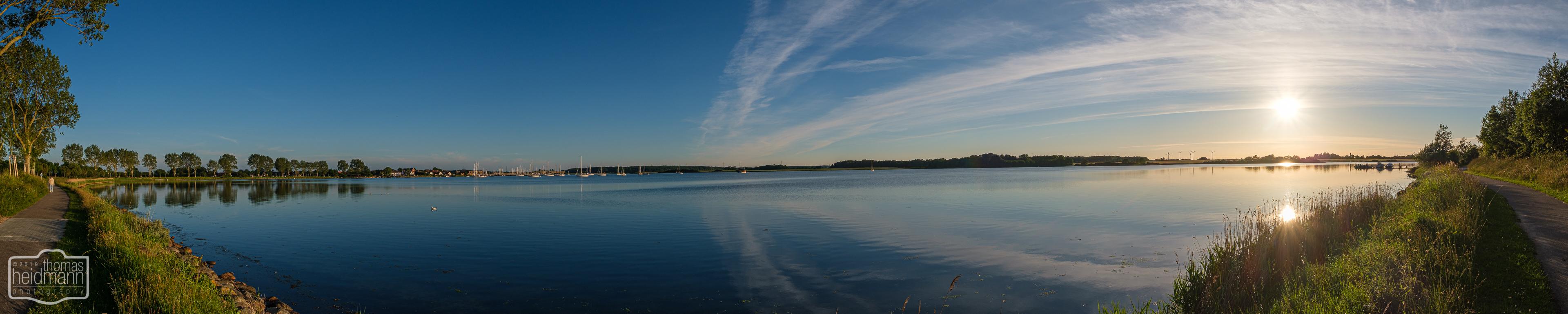 Sonnenuntergang in Maasholm
