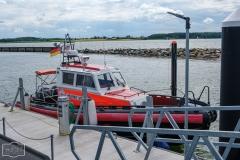 Impressionen aus Maasholm - Der kleine Rettungskreuzer
