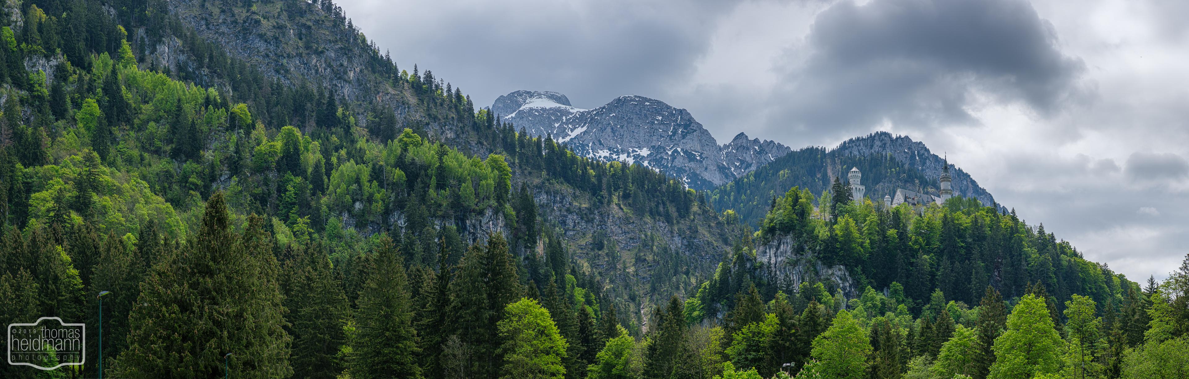 Radtour durchs Allgäu nach Füssen - Schloss Neuschwanstein