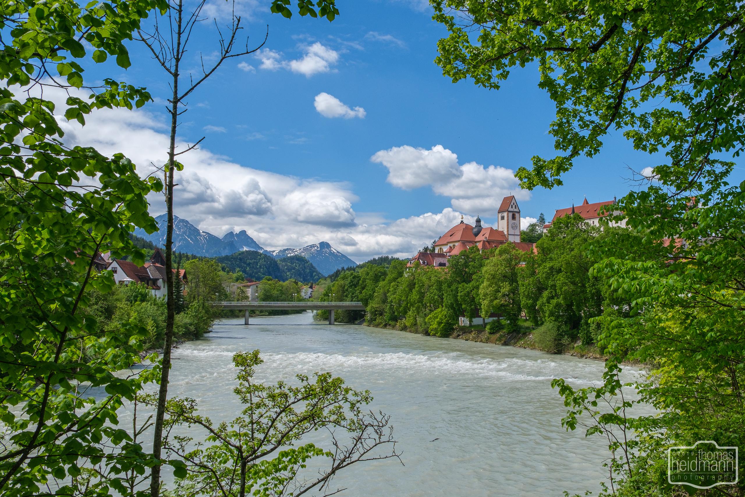 Radtour durchs Allgäu nach Füssen - Füssen