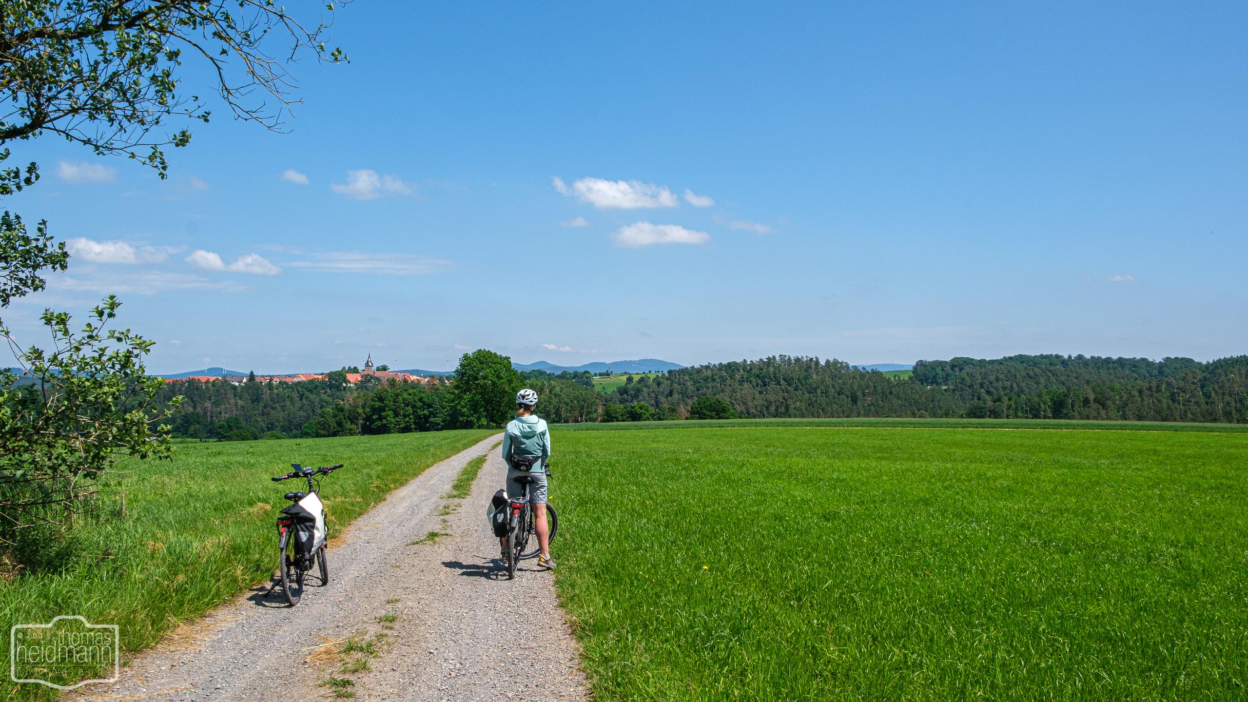 Radtour am Twistesee bei Bad Arolsen