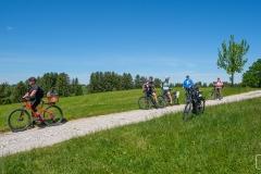 Radtour durchs Allgäu nach Füssen -  mit ein paar Dethleffs WoMo Freunden