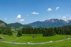Wanderung durch die Breitachklamm - Alpenpanorama
