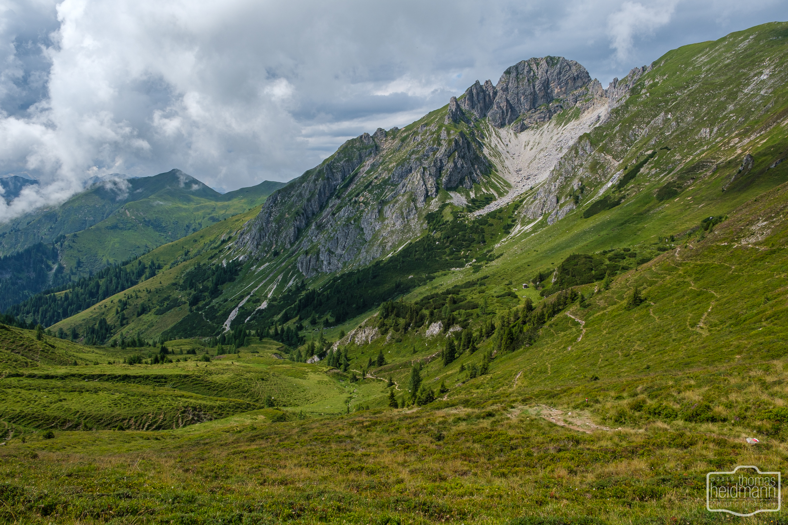 Gratwanderung - Der Weg zu den Draugsteinalmen und ins Tal