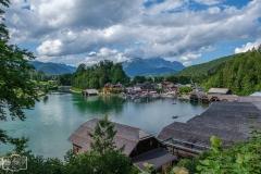 Wanderung Malerrunde - Blick auf Schönau am Königssee