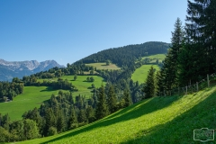 Wanderung auf die Hohe Salve - Ausblick in die Landschaft