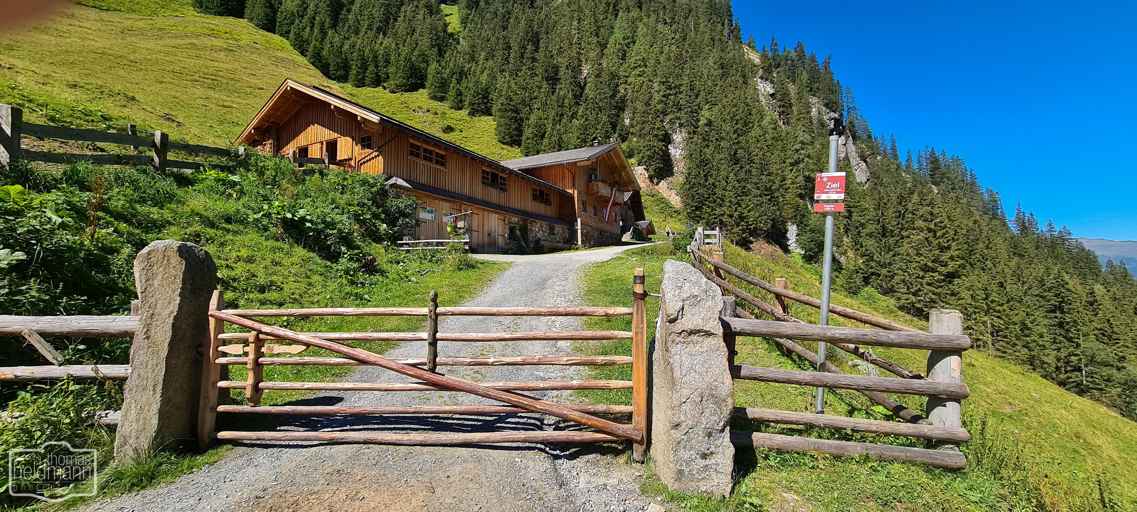 Die Finkalm im Untersulzbachtal