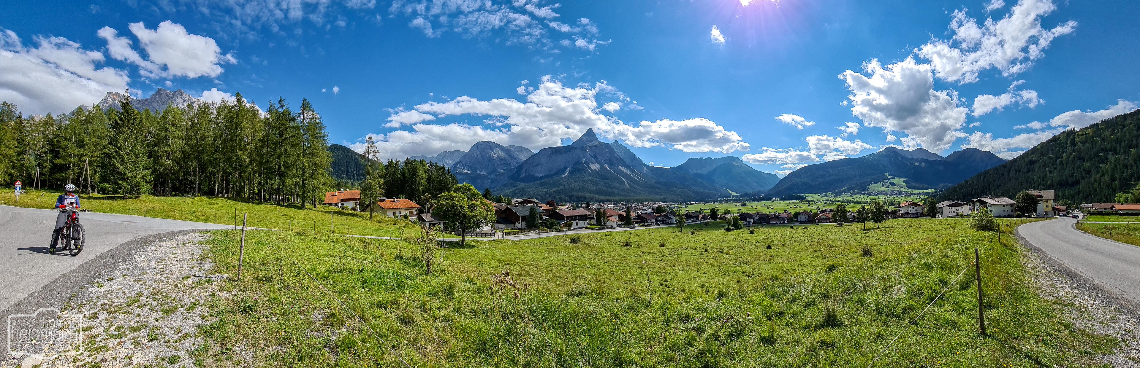 Bergwelt bei Ehrwald