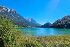 Hintersteiner See mit Blick auf den Wilden Kaiser